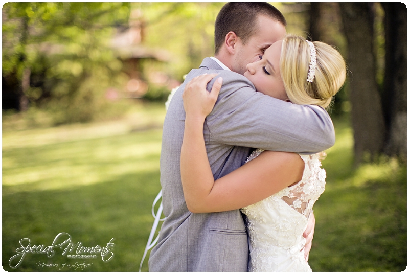 Memories Of A Lifetime Taylor Chad First Look Arkansas Wedding Photography