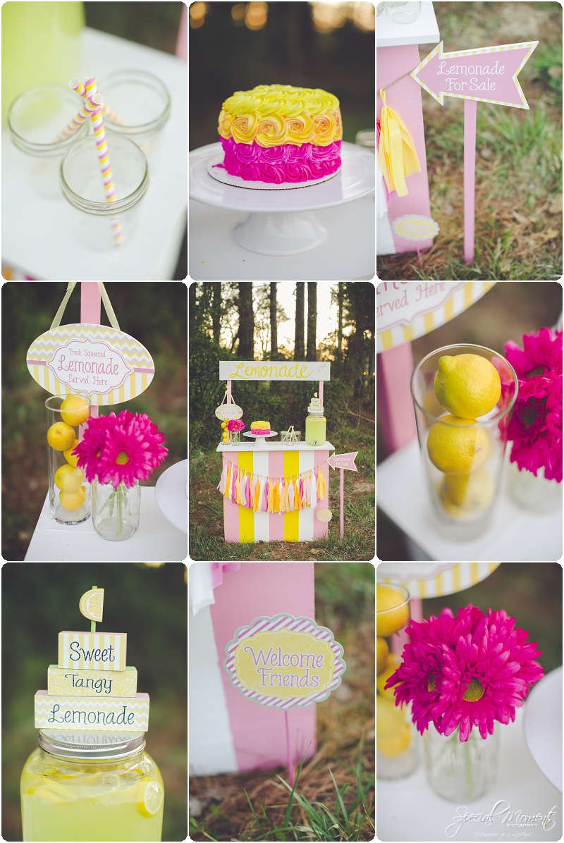 lemonade stand smash the cake, 1 year old portraits, fort smith arkansas photography_0020