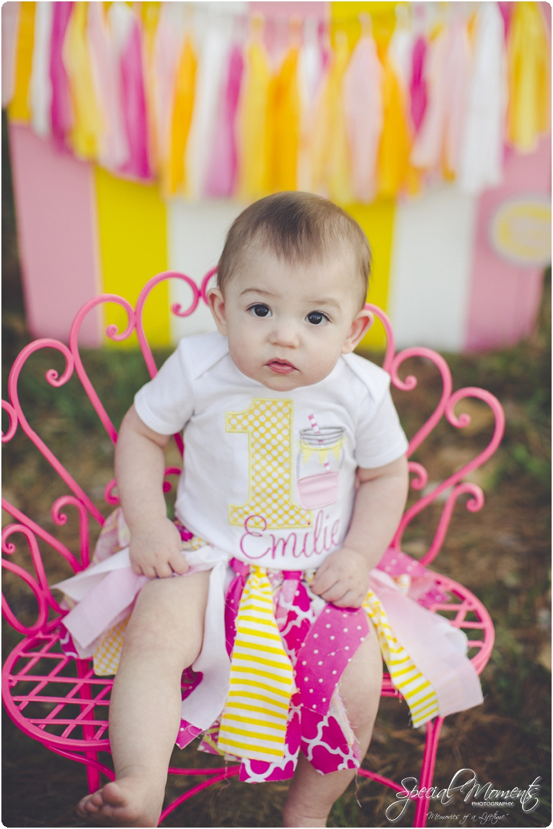 lemonade stand smash the cake, 1 year old portraits, fort smith arkansas photography_0023