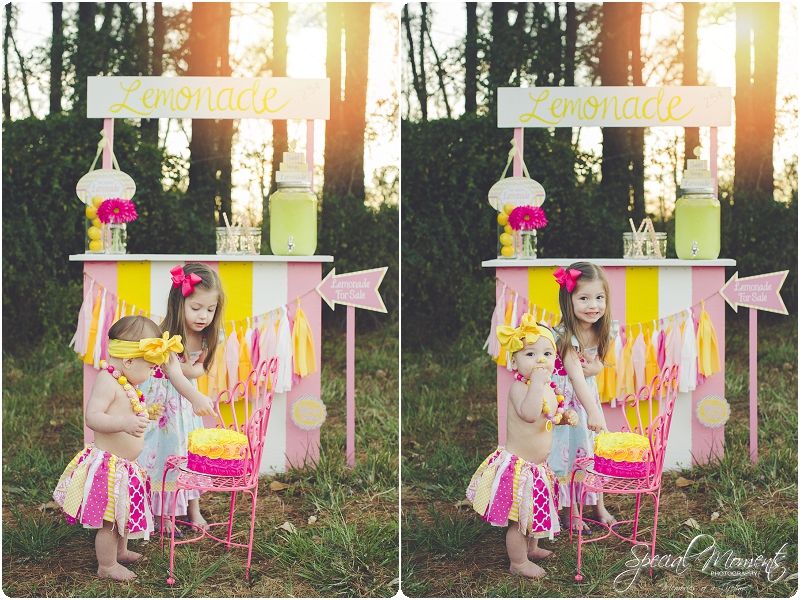 lemonade stand smash the cake, 1 year old portraits, fort smith arkansas photography_0025
