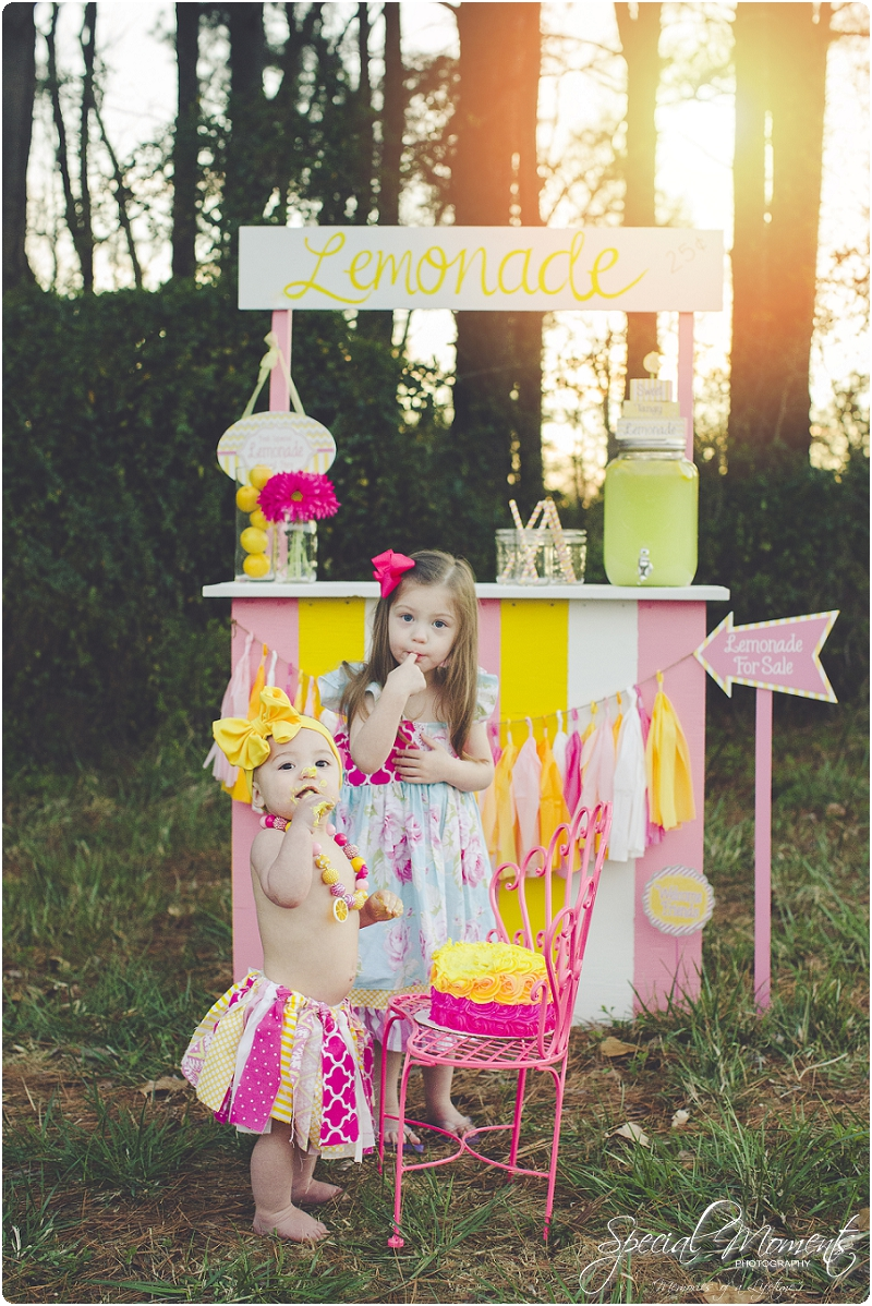 lemonade stand smash the cake, 1 year old portraits, fort smith arkansas photography_0026
