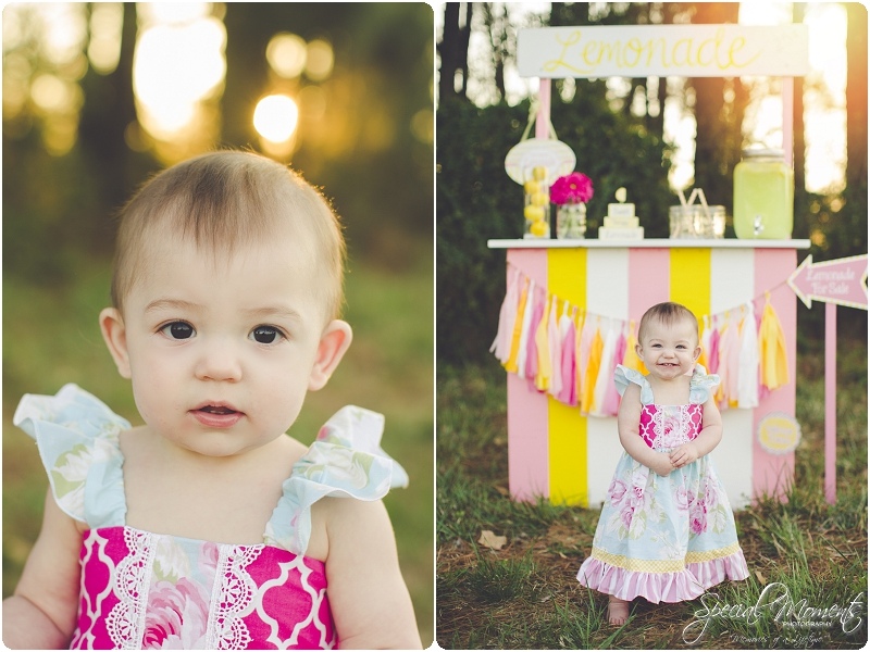 lemonade stand smash the cake, 1 year old portraits, fort smith arkansas photography_0027