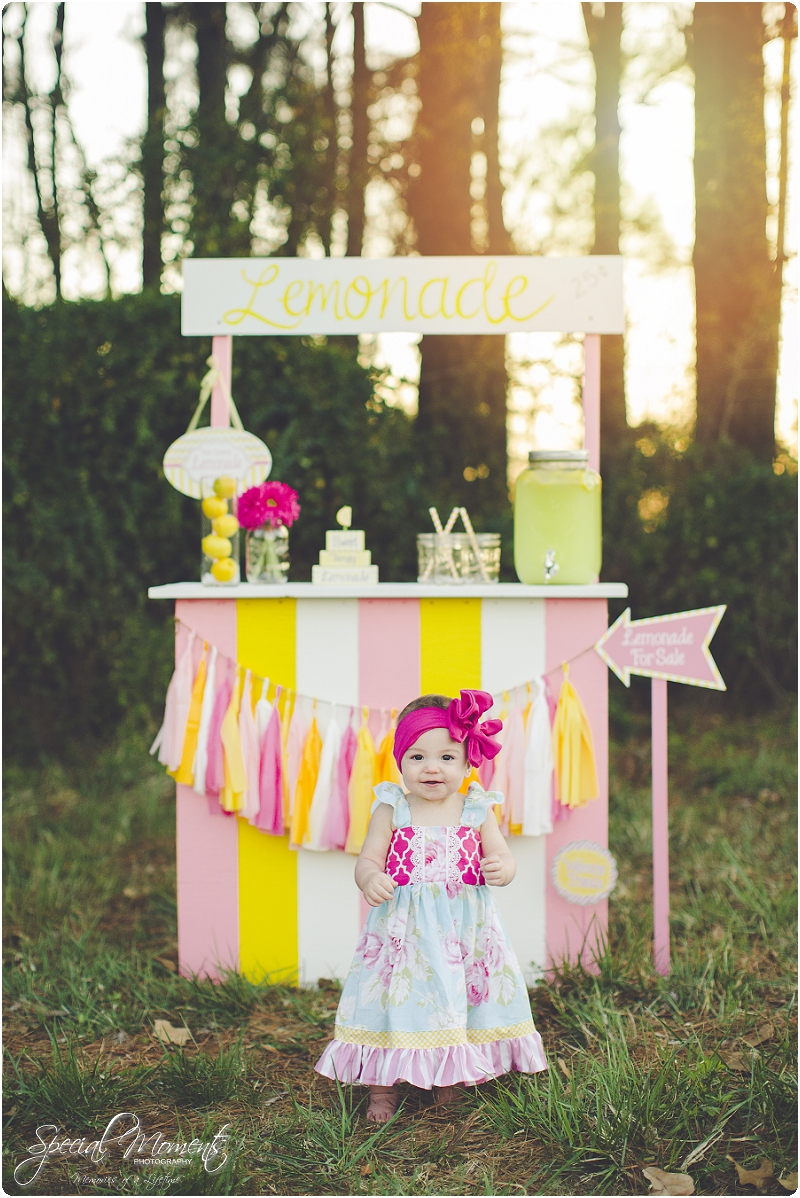 lemonade stand smash the cake, 1 year old portraits, fort smith arkansas photography_0033
