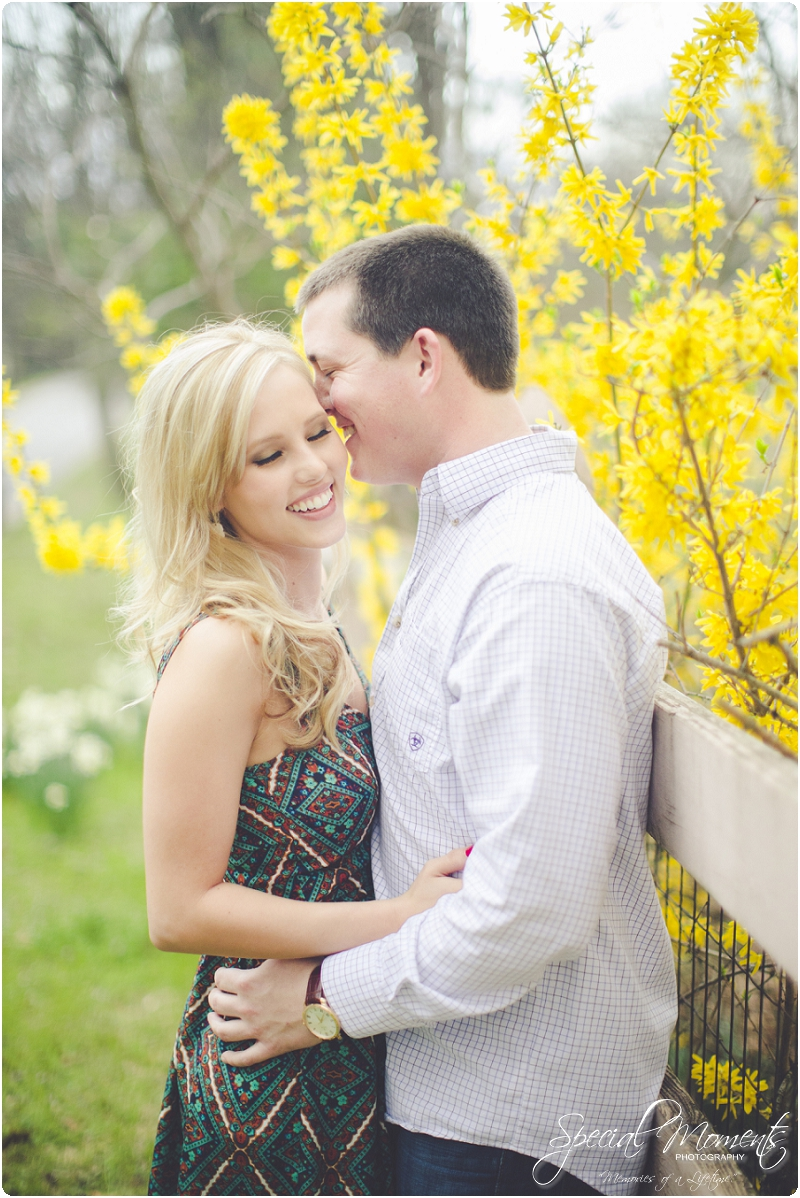 southern engagement portraits, spring engagement pictures, fort smith arkansas photography_0000