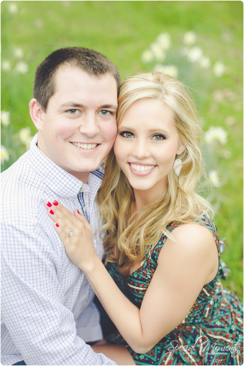 southern engagement portraits, spring engagement pictures, fort smith arkansas photography_0001