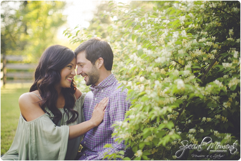 southern engagement portraits, spring engagement pictures, fort smith arkansas photography_0011